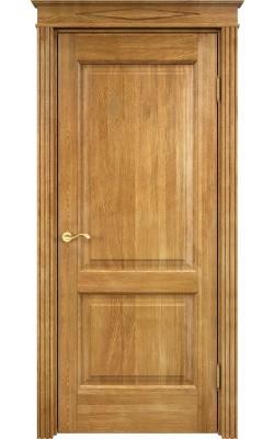 Межкомнатная дверь , остеклённая, беленый дуб